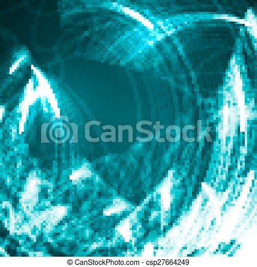 abstrakcyjny, tło, techniczny - csp27664249