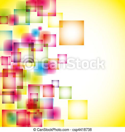 abstrakcyjny, tło - csp4418738