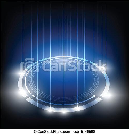 abstrakcyjny, technologia, tło - csp15146590