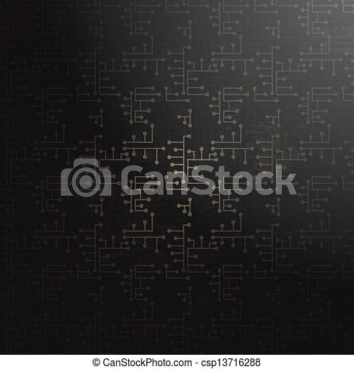 abstrakcyjny, technologia, tło - csp13716288
