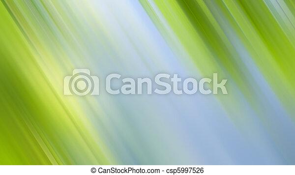 abstrakcyjny, zielone tło, natura - csp5997526