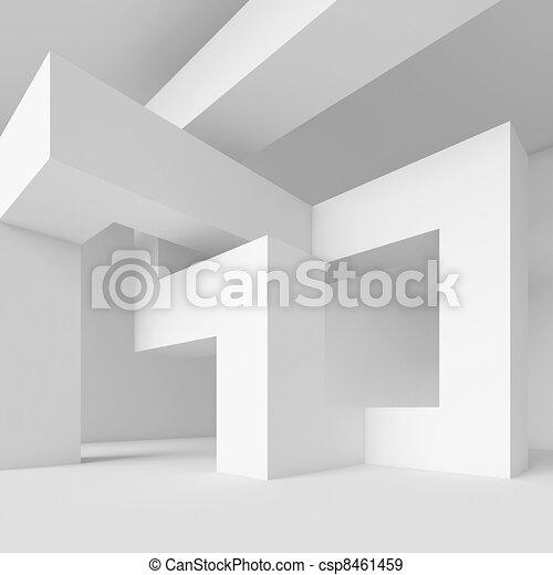 abstrakt, arkitektur - csp8461459