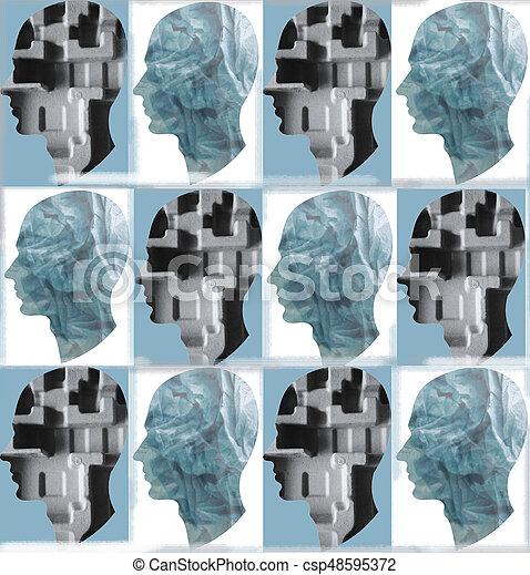 abstrakt, baggrund - csp48595372