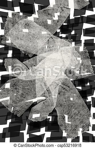 abstrakt, baggrund - csp53216918