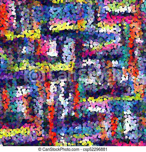 abstrakt, baggrund - csp52296881