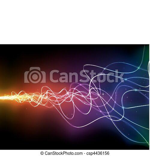 abstrakt, baggrund - csp4436156