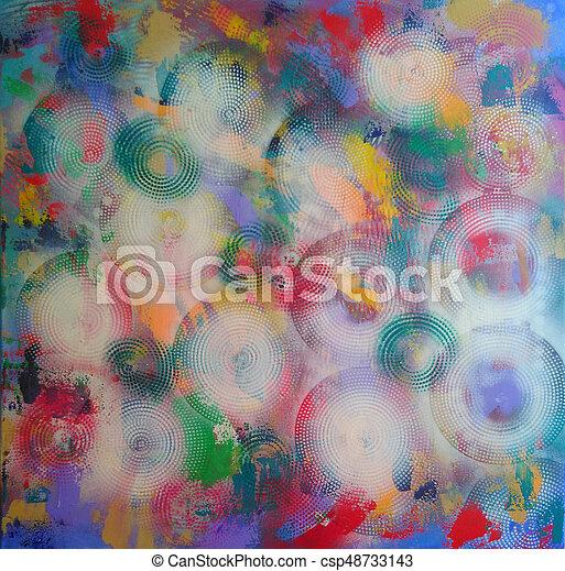 abstrakt, baggrund - csp48733143