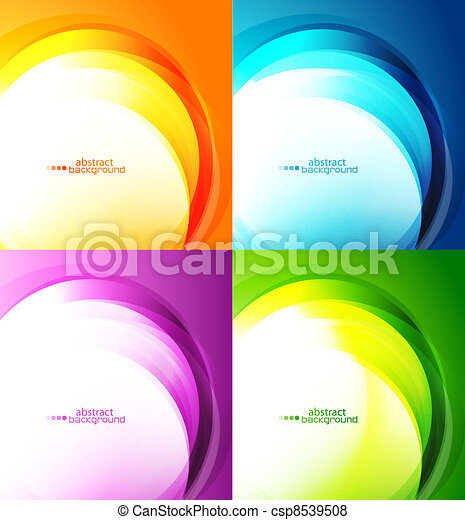 abstrakt, baggrunde - csp8539508