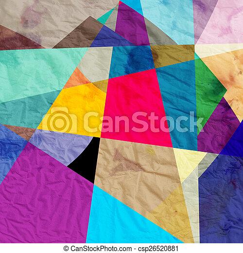 abstrakt, bakgrund - csp26520881
