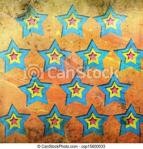 abstrakt, bakgrund, stjärnor - csp15600033