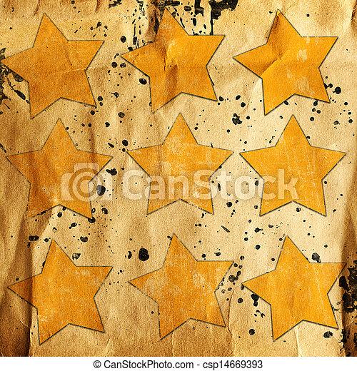 abstrakt, bakgrund, stjärnor - csp14669393