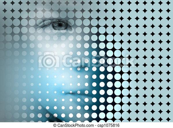 abstrakt, bakgrund - csp1075816
