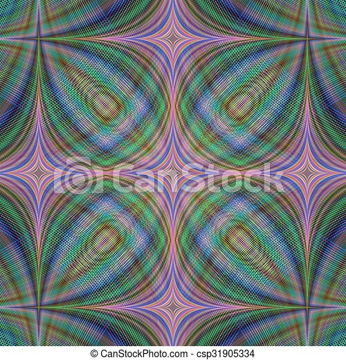 Abstrakt, düster, fractal, hintergrund. Edv, abstrakt ...