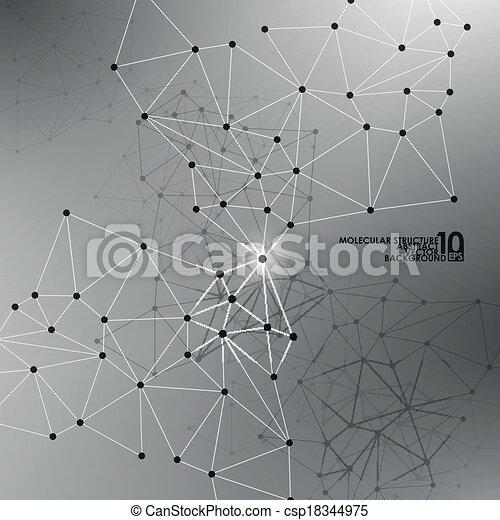 Abstract DNA Hintergrund - csp18344975