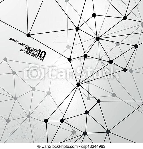 Abstract DNA Hintergrund - csp18344963