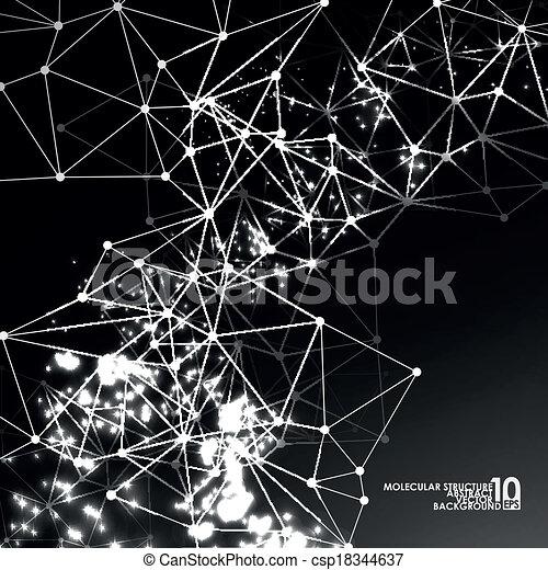 Abstract DNA Hintergrund - csp18344637