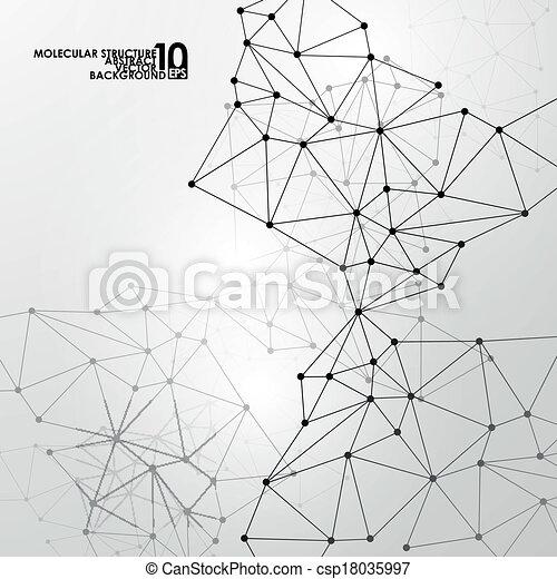 Abstract DNA Hintergrund - csp18035997