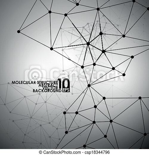 Abstract DNA Hintergrund - csp18344796