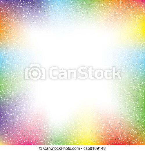 abstrakt, farverig, grunge, tekst - csp8189143