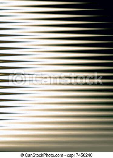 abstrakt, fenster, feste jalousie - csp17450240