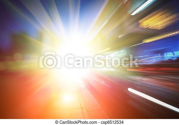 abstrakt, framtidstrogen, bakgrund - csp6512534