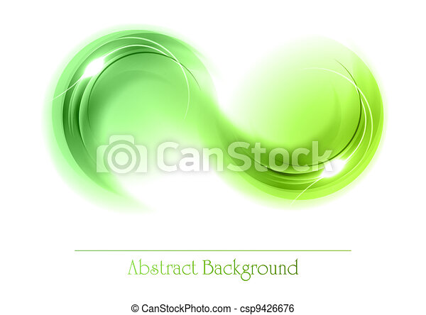 abstrakt, gegenstände, grün - csp9426676