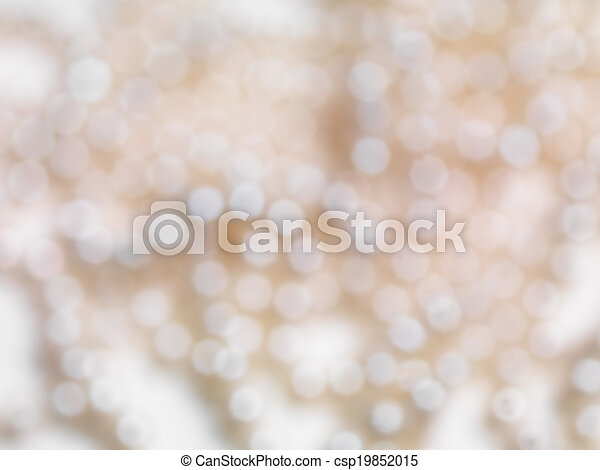 Abstract beige funkelnder, verschwommener Hintergrund - csp19852015