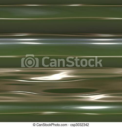 abstrakt, glatt, blanke, væske - csp3032342