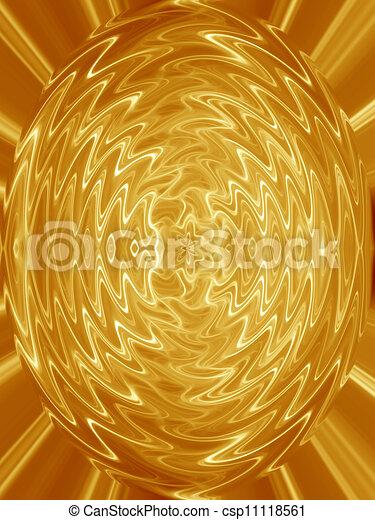 abstrakt, gold, hintergrund, strömend - csp11118561
