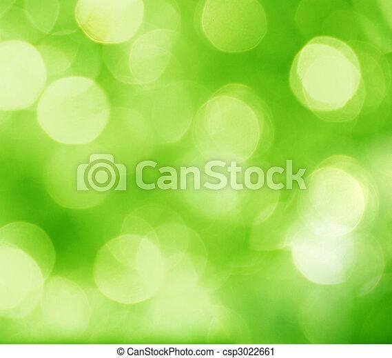 abstrakt, grøn baggrund - csp3022661