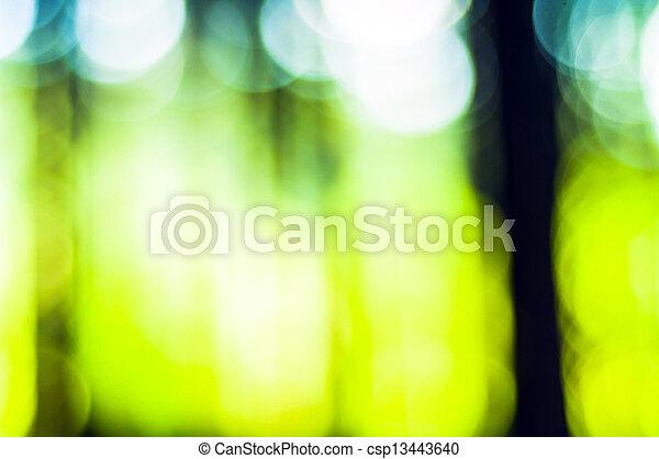abstrakt, grün, fokus, hintergrund, heraus - csp13443640