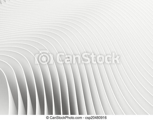 abstrakt, hintergrund, weißes, render, 3d - csp20480916