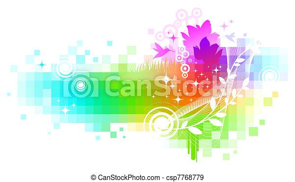 Abstrakter Hintergrund - csp7768779