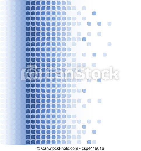 abstrakt, mosaik, hintergrund - csp4419016