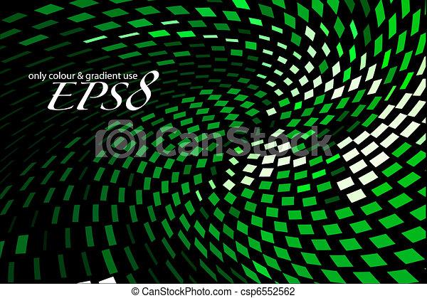 abstrakt, mosaik, hintergrund - csp6552562