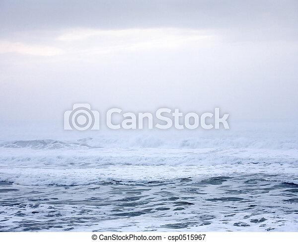 Pazifischer Ozean abstrakt - csp0515967