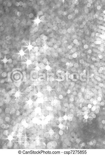 abstrakt, silver, bakgrund - csp7275855