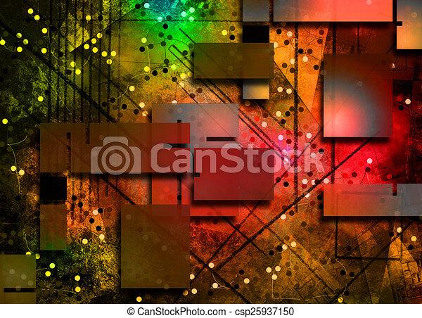 abstrakt - csp25937150