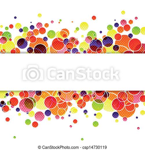 abstrakt, vektor, bakgrund - csp14730119