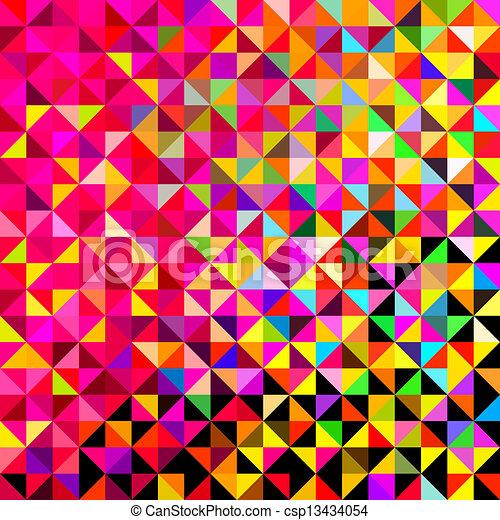 abstrakt, vektor, hintergrund - csp13434054
