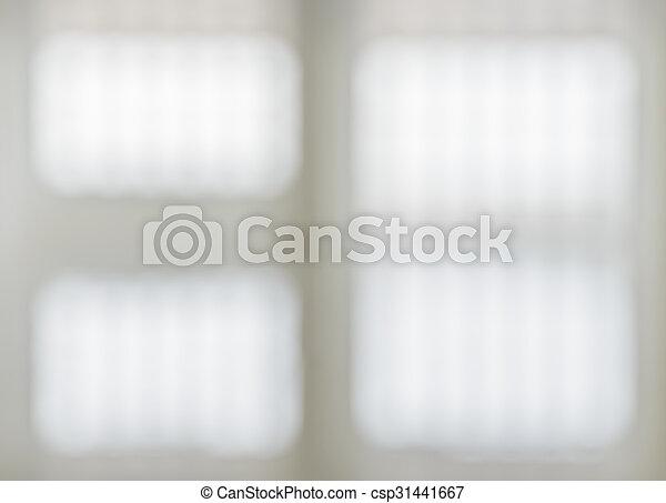 abstrakt, weißes, bild, fenster, hintergrund - csp31441667