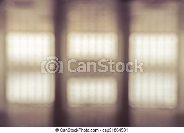 Abstract Bild Hintergrund des weißen Fensters - csp31864501