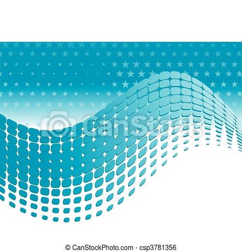 abstraktes design, dein, hintergrund - csp3781356