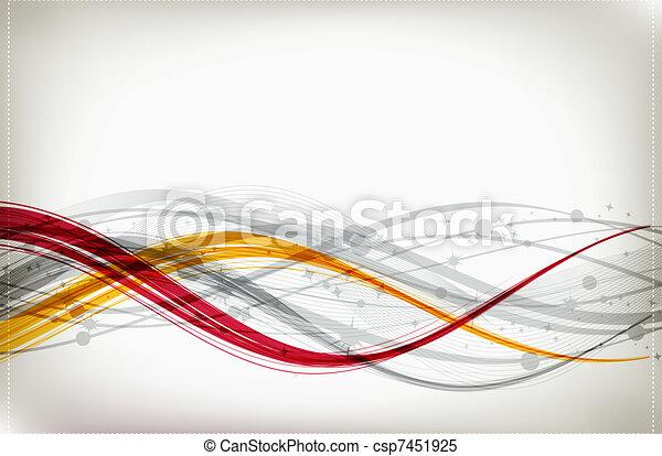 abstraktes design, dein, hintergrund - csp7451925