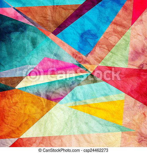 abstraktní, grafické pozadí - csp24462273