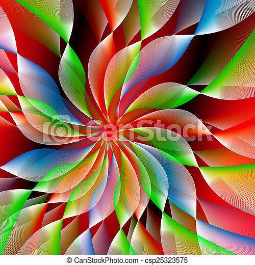 abstraktní, grafické pozadí - csp25323575