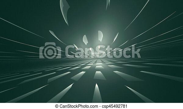 abstraktní, grafické pozadí - csp45492781