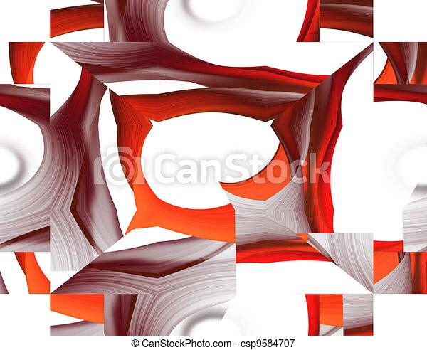 abstraktní, grafické pozadí - csp9584707