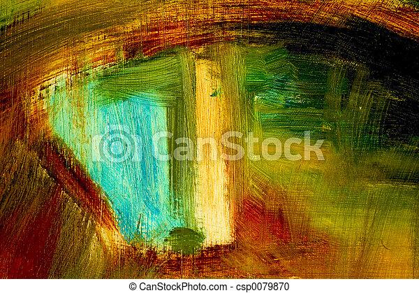 abstraktní, grafické pozadí - csp0079870