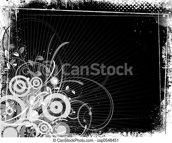abstraktní, grunge - csp0548451